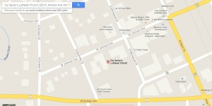 map Our Savior's 2